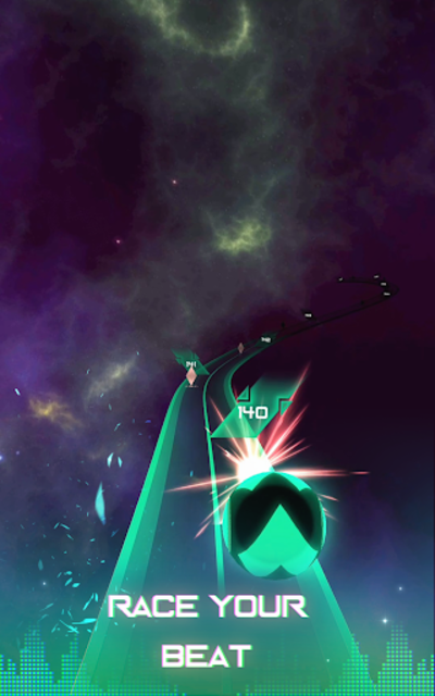 Infinity Run: Rush Balls On Rhythm Roller Coaster screenshot 20