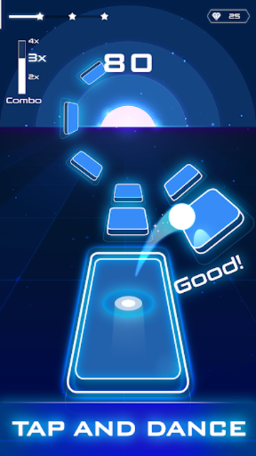 Magic Twist: Twister Music Ball Game screenshot 7