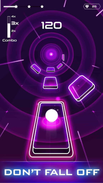 Magic Twist: Twister Music Ball Game screenshot 1