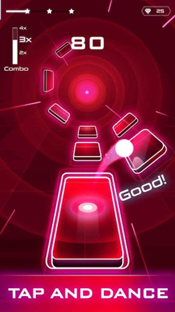 Magic Twist: Twister Music Ball Game screenshot 3