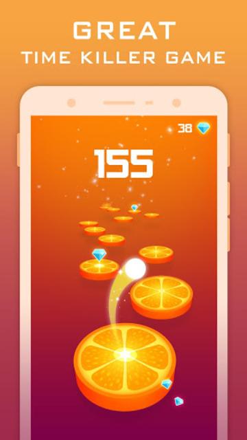 Splashy Tiles: Bouncing To The Fruit Tiles screenshot 2