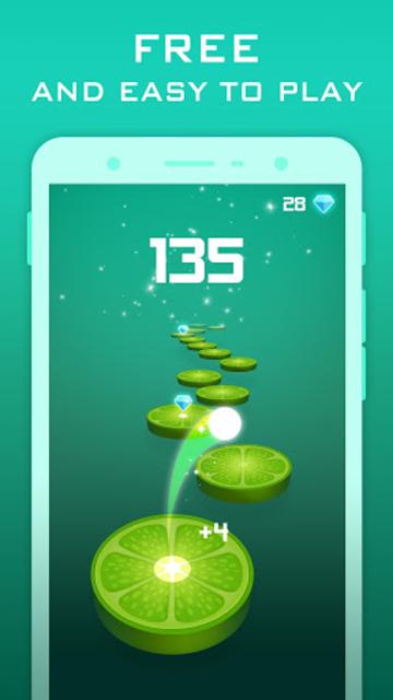 Splashy Tiles: Bouncing To The Fruit Tiles screenshot 3