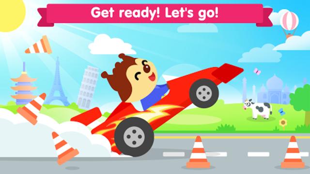 Car game for toddlers - kids cars racing games screenshot 5