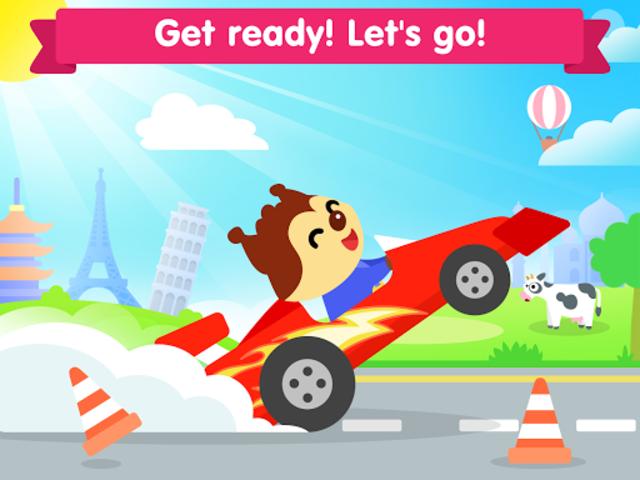 Car game for toddlers - kids cars racing games screenshot 15