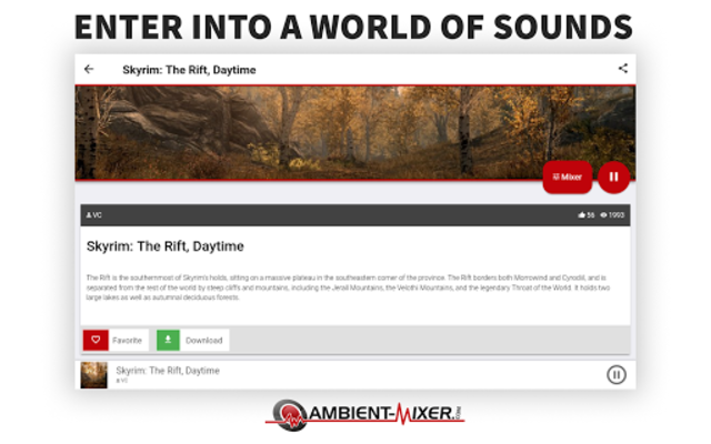 Ambient Mixer Music screenshot 6