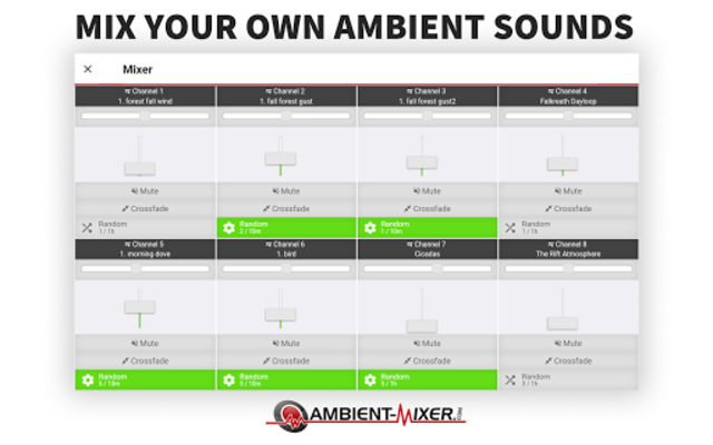 Ambient Mixer Music screenshot 7