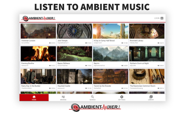 Ambient Mixer Music screenshot 8