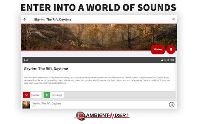Ambient Mixer Music screenshot 9