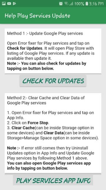 Fix Play Services Error & Update & Help Play Store screenshot 9