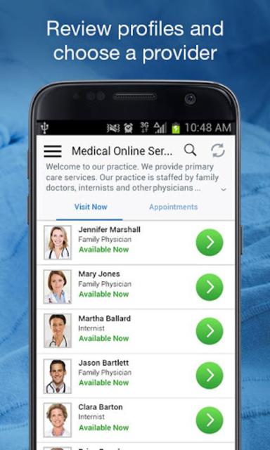 Atrium Health Virtual Visit screenshot 2