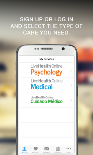 LiveHealth Online Mobile screenshot 3