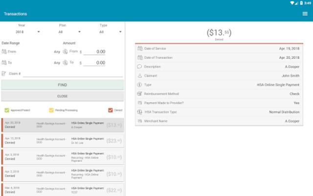 myameriflex App screenshot 9