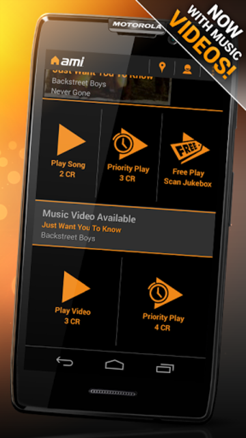 AMI Music (formerly BarLink) screenshot 5