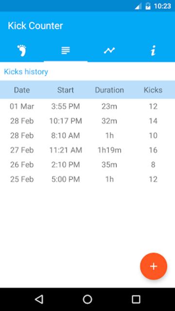 Kick Counter screenshot 3