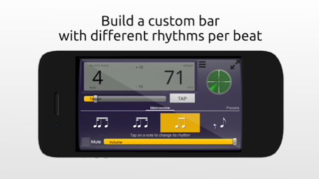Creative Rhythm Metronome screenshot 1