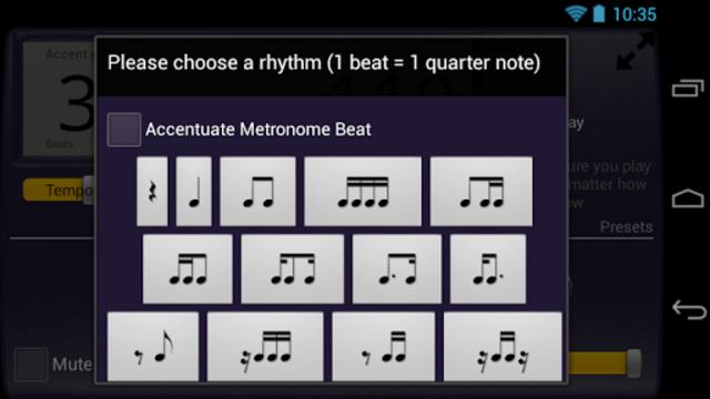 Creative Rhythm Metronome screenshot 4