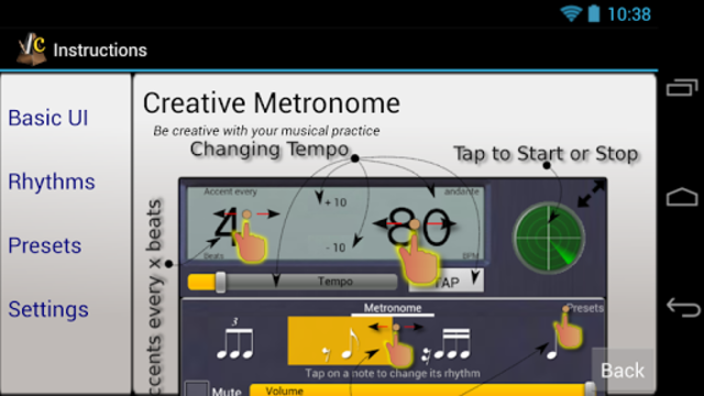 Creative Rhythm Metronome screenshot 8