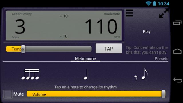 Creative Rhythm Metronome screenshot 10