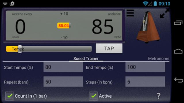 Creative Rhythm Metronome screenshot 12