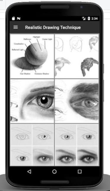 Realistic Drawing Technique screenshot 2