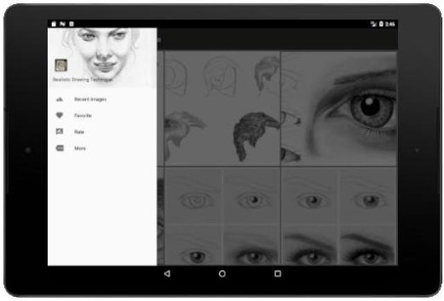 Realistic Drawing Technique screenshot 7