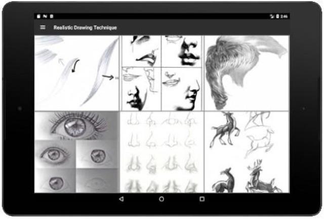 Realistic Drawing Technique screenshot 8