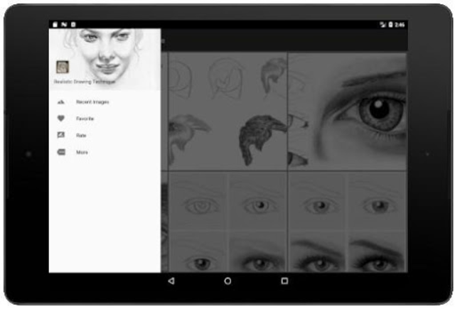 Realistic Drawing Technique screenshot 11