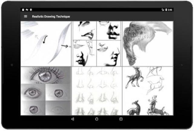 Realistic Drawing Technique screenshot 12