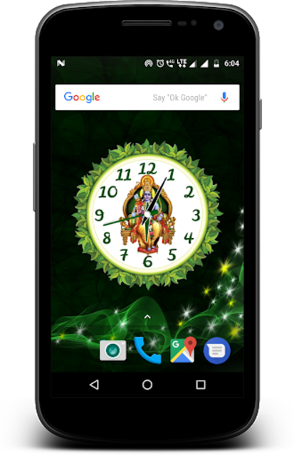 Jai shree Ram clock live wallpaper screenshot 1 ...
