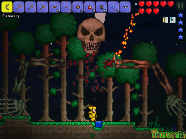 Terraria. screenshot 10
