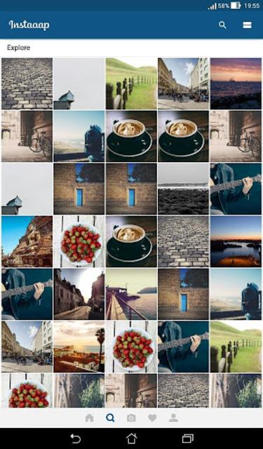Insta App - Material UI Template screenshot 7