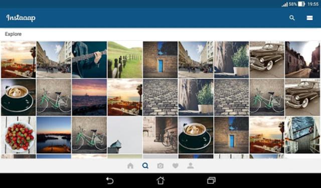 Insta App - Material UI Template screenshot 8