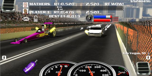 Burn Out Drag Racing 2019 screenshot 1