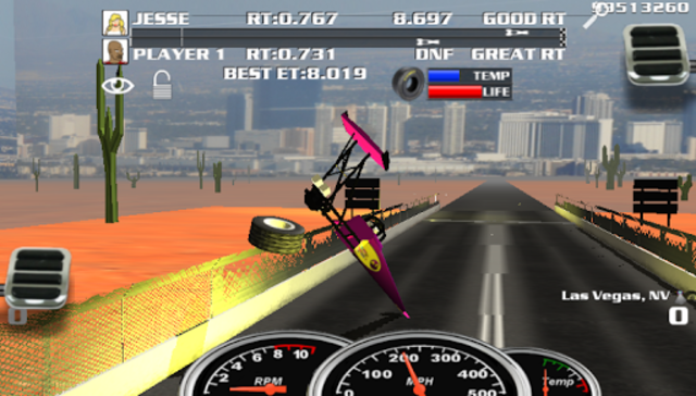 Burn Out Drag Racing 2019 screenshot 3