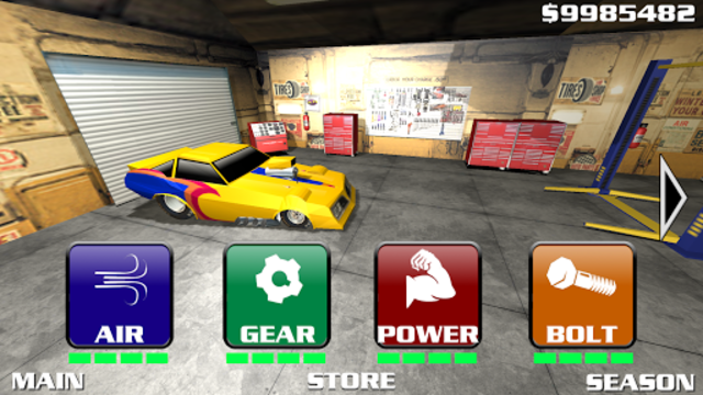 Burn Out Drag Racing 2019 screenshot 4
