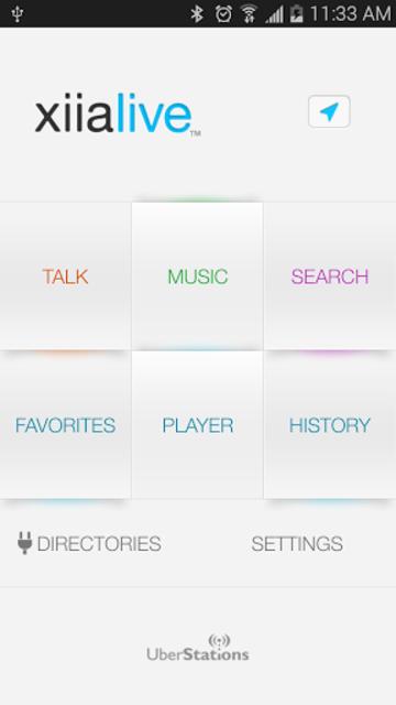 XiiaLive™ Pro - Internet Radio screenshot 1