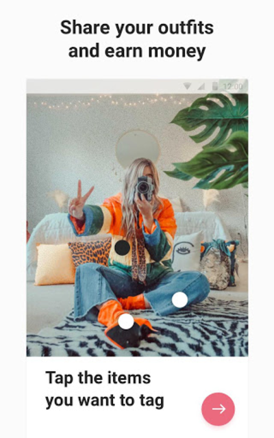 21 Buttons: Fashion Social Network & Clothing Shop screenshot 11