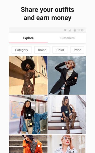 21 Buttons: Fashion Social Network & Clothing Shop screenshot 18