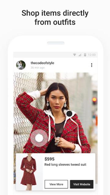 21 Buttons: Fashion Social Network & Clothing Shop screenshot 4