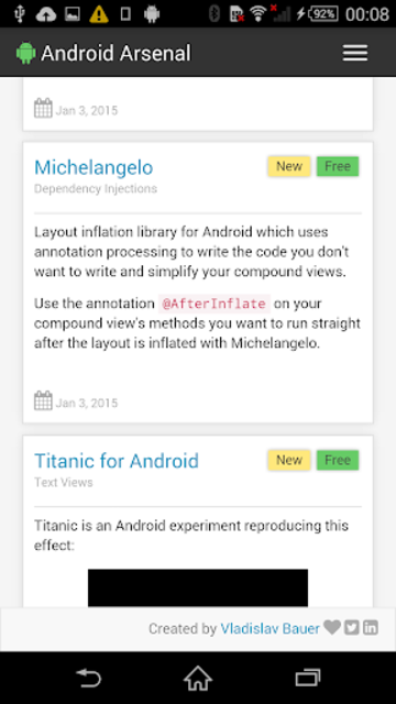 Arsenal for Android screenshot 2