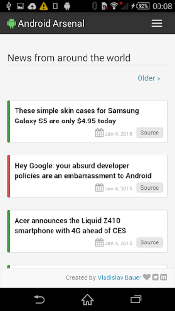 Arsenal for Android screenshot 5