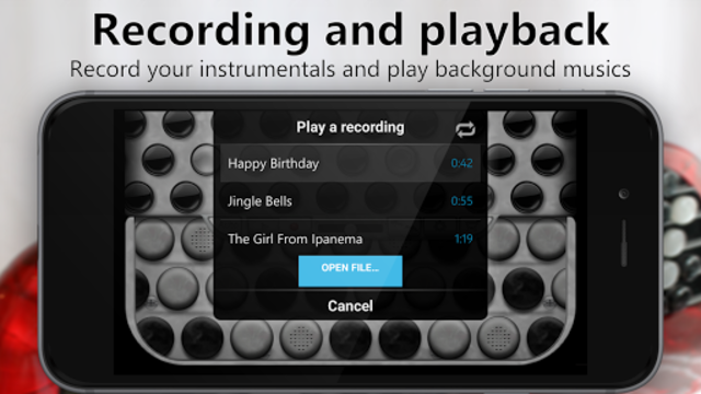 Accordion Chromatic Button screenshot 3