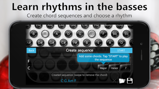 Accordion Chromatic Button screenshot 4