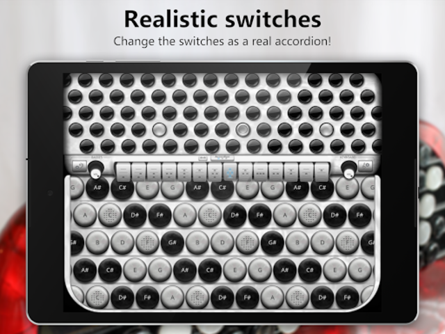 Accordion Chromatic Button screenshot 14