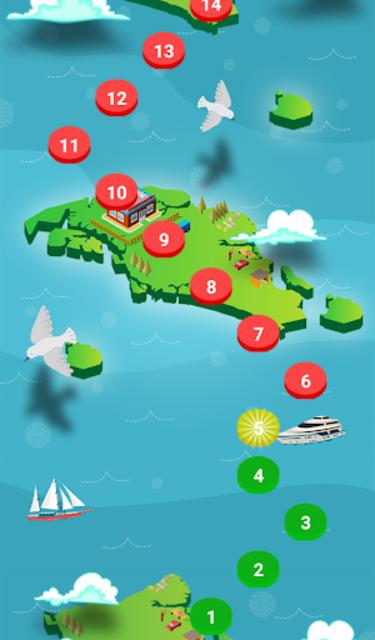 الغاز كراش - لعبة تحدي ممتعة screenshot 2