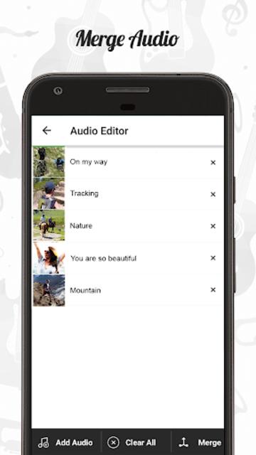 Audio Editor : Cut,Merge,Mix Extract Convert Audio screenshot 3