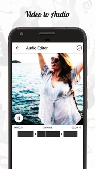 Audio Editor : Cut,Merge,Mix Extract Convert Audio screenshot 6