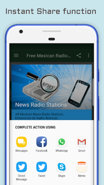 Mexican Radio Stations - Music & News screenshot 4
