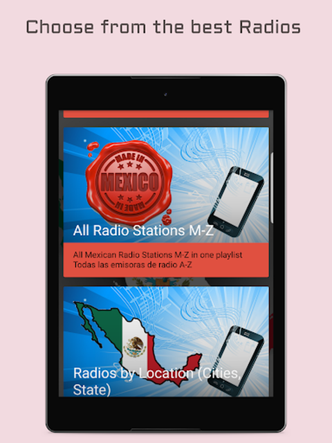 Mexican Radio Stations - Music & News screenshot 6