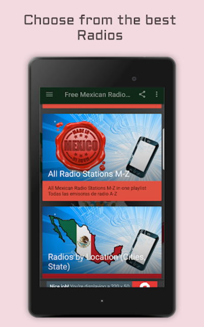 Mexican Radio Stations - Music & News screenshot 11